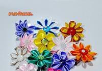 Kanzashi - květinové mámení
