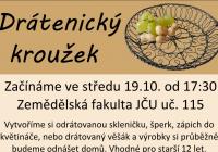Drátenický kroužek v Č. Budějovicích od 19.10.2016