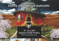 Konference Stavby z přírodních materiálů Praha 2017