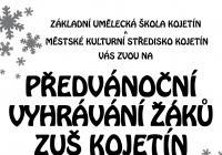 Předvánoční vyhrávání žáků ZUŠ Kojetín