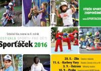 Sporťáček 2016 Karlovy Vary - festival sportu pro děti