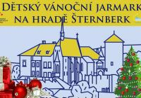 Dětský vánoční jarmark na hradě Šternberk