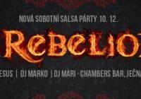 La Rebelion Salsa party