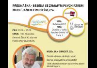 Beseda s MUDr. Janem Cimickým, CSc.