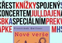 Křest knížky spojený s koncertem Jull Dajen a sbk a speciálním překvapením