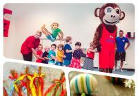 Velikonoční tvoření a tančení v Monkey's Gym