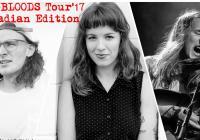 Tři mladí hudebníci z Kanady: Megan Nash, Devarrow, OMBS