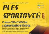 Ples sportovců města Ostrova a Domu kultury 2017