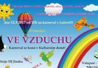 Karneval pro děti na téma: Ve vzduchu