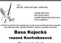 Basa Kojecká rozená Kontrabasová