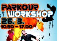 Tary a Smusa Parkour workshop