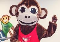 Zábavná diskotéka s opičkou Lolou