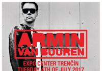 Armin van Buuren in Trenčín