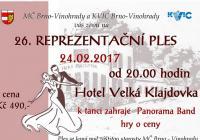 26. reprezentační ples městské části Brno-Vinohrady
