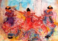Taneční kurzy Flamenco - Balet - Kastaněty