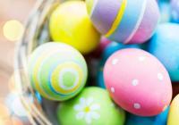 Velikonoční zdobení - mramorovaná vajíčka