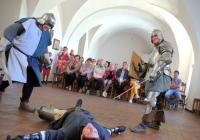 Ukončení hlavní návštěvnické sezóny na hradě Šternberk