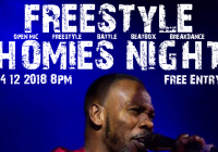 Freestyle Homies Night