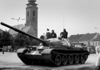 Soběslav 21. 8. 1968 objektivem Járy Novotného