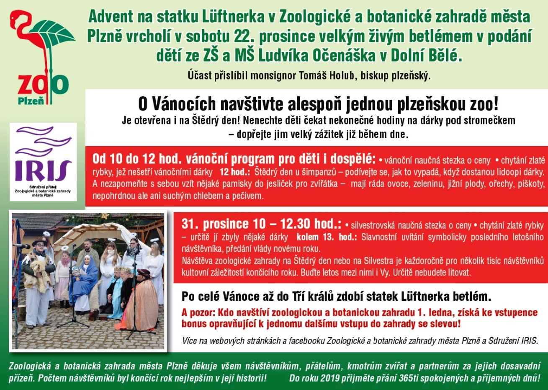 Silvestr v Zoo Plzeň