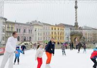 Kluziště na náměstí Olomouc