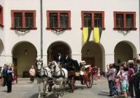 Císařské slavnosti na zámku Zákupy