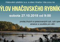 Výlov Hnačovského rybníka
