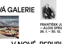 František Jureček – Alois Sprušil / Nová galerie v nové republice