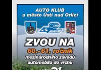 Závody do vrchu - Ústí nad Orlicí