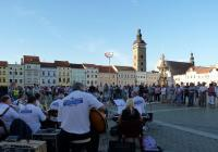 Hudební večery na náměstí v Českých Budějovicích