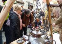 Vánoce na starém městě a staročeská ulička v Panské - České Budějovice