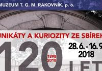 Unikáty a kuriozity ze sbírek. 120 let muzea v Rakovníku