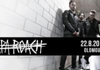 Papa Roach - Korunní pevnůstka Olomouc