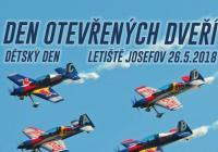 Den otevřených dveří a Dětský den - Letiště Josefov