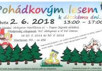 Pohádkový les ke Dni děti - Jáchymov