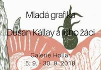 Mladá grafika : Dušan Kállay a jeho žáci