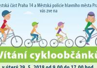 Vítání cykloobčánků - Centrum Praha Černý Most