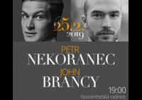 Petr Nekoranec, John Brancy a William Kelley