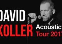 David Koller acoustic tour 2018
