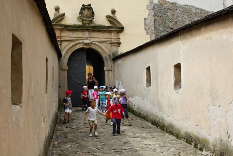 Dětské prohlídky hradu Malenovice
