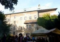 Myslivecký jarmark na hradě Houska