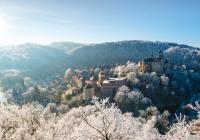 Krušnohorské vánoční trhy na hradě Loket
