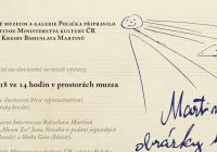 Originální kresby Bohuslava Martinů v Poličce