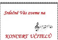 Koncert učitelů ZUŠ Hostinné