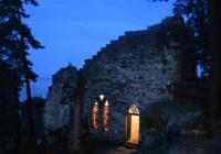 Noční prohlídka hradu Valdštejn