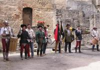 Historický šerm na hradě Landštejn