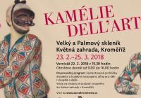 Vernisáž výstavy Kamélie dell´arte v Květné zahradě v Kroměříži