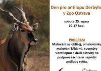 Den pro antilopu Derbyho v Zoo Ostrava