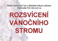 Rozsvícení vánočního stromu - Horšovský Týn