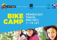 Bike camp v Holešovicích: příměstský tábor pro malé cyklisty